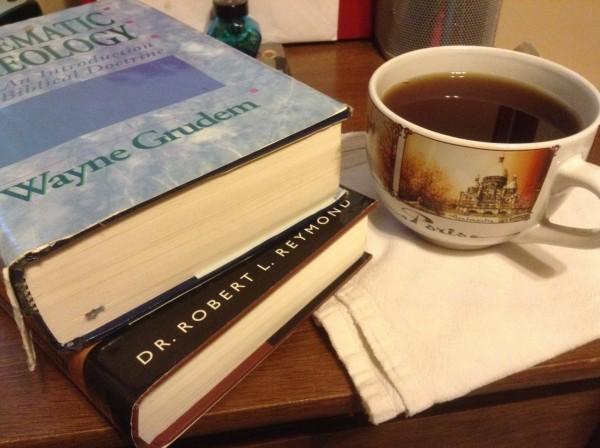 Theology books image
