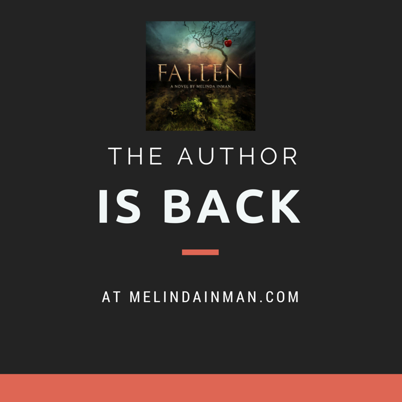 FALLEN - the author IS BACK