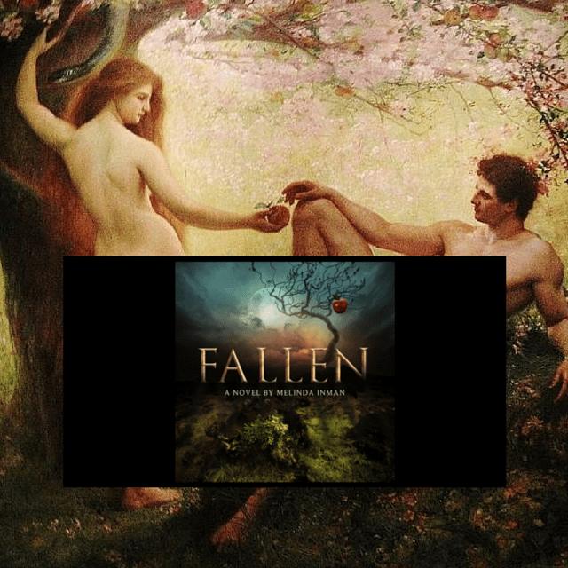 Fallen - picture, novel cover 7