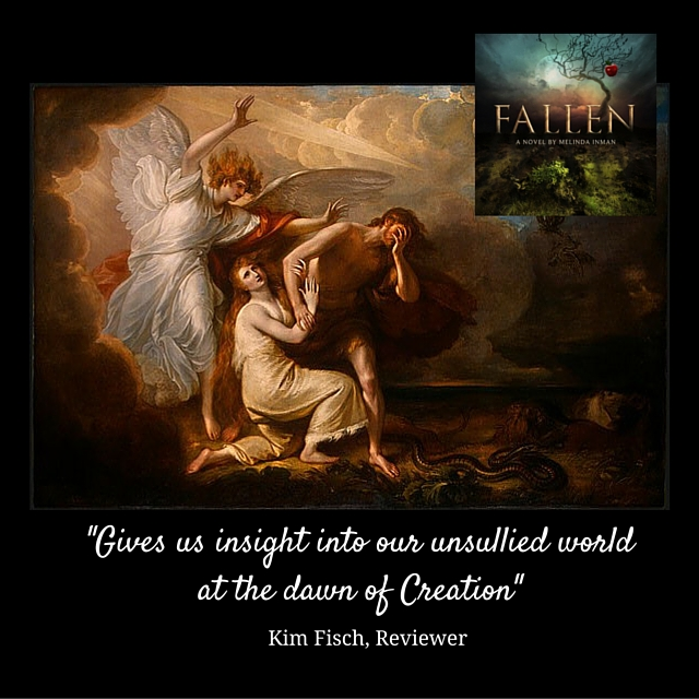 Fallen (launch), gives us inside into our unsullied world, picture and novel cover