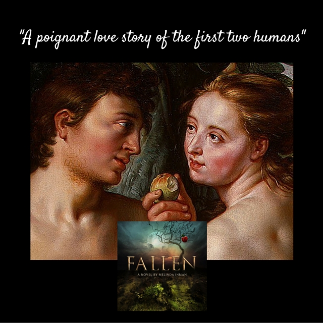 Fallen (launch), poignant love story, picture and novel cover 2