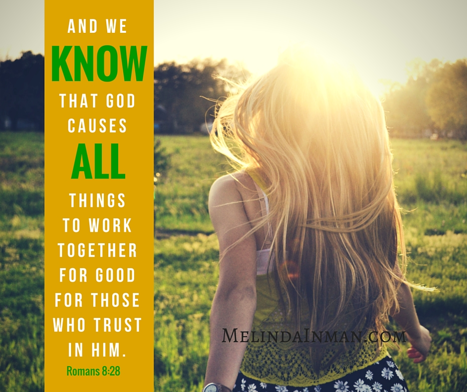 Social, Romans 8, 28, and we KNOW that God causes ALL things