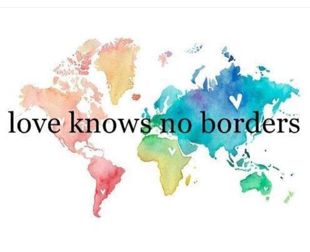 God's love knows no borders
